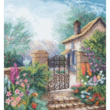 BT-241 Цветущий сад. CrystalArt. Наборы для вышивания крестиком.