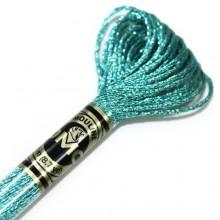 Металлизированная нить (Металлик)E3849 DMC Light Effect Jewels (E3849 Aquamarine Blue) . Нитки для вышивания