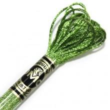 Металлизированная нить (Металлик)E703 DMC Light Effect Jewels (E703 Light Green Emerald) . Нитки для вышивания