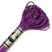 Металлизированная нить (Металлик)E718 DMC Light Effect Jewels (E718 Pink Garnet) . Нитки для вышивания