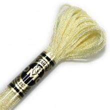 Металлизированная нить (Металлик)E746 DMC Light Effect PEARLESCENTS (E746 Cream) . Нитки для вышивания