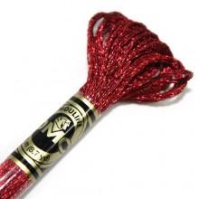 Металлизированная нить (Металлик)E815 (5270) DMC Light Effect Jewels (E815 (5270) Dark Red Ruby) . Нитки для вышивания