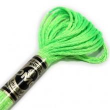 Металлизированная нить (Металлик)E990 DMC Light Effect FLUORESCENTS(E990 Neon Green) . Нитки для вышивания
