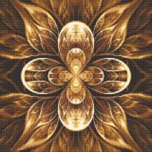 ДМ-326 Мандала - цветок жизни. Алмазная Мозаика. Наборы со стразами.