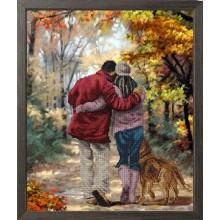 10917 Осень в парке. Краса i Творчiсть. Наборы для вышивания бисером.