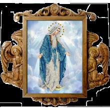 10918 Дева Мария. Краса i Творчiсть. Наборы для вышивания ювелирным бисером.