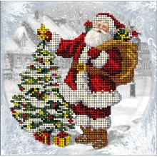 11118 Рождественские истории 29. Краса i Творчiсть. Наборы для вышивания бисером.