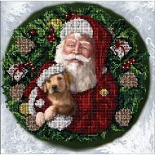 31017 Рождественские истории 25. Краса i Творчiсть. Наборы для вышивания бисером.
