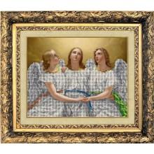 """31217 """"Оберег трех ангелов"""". Краса i Творчiсть. Наборы для вышивания ювелирным бисером."""