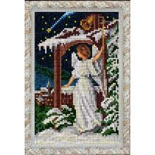 80915 Рождественский ангел. Краса i Творчiсть. Наборы для вышивания ювелирным бисером.