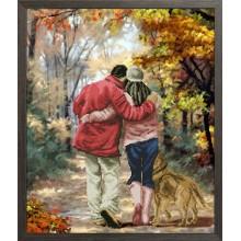 20917 Осень в парке. Краса i Творчiсть. Наборы для вышивания крестиком.
