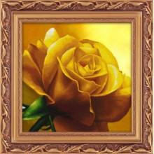 5D-055 Желтая роза . LASKO. Наборы для рисования камнями.