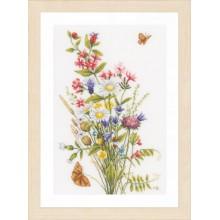 PN-0155693 Полевые цветы. LanArte. Наборы для вышивания крестиком.