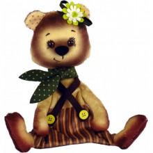 ММ3015 Мишка. Новая Слобода. Наборы для шитья кукол.