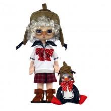 К1078 Мальчик с пингвином. Новая Слобода. Наборы для шитья кукол.