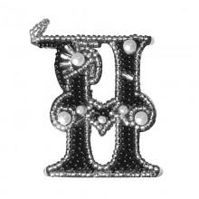 РВ2081 Буква Н. Новая Слобода. Наборы для вышивания бисером.