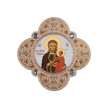 РВ3313 Богородица Ченстоховская. Новая Слобода. Наборы для вышивания бисером.