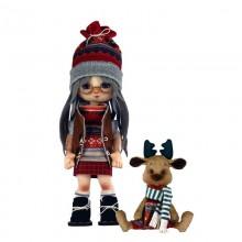 К1074 Девочка с лосиком. Новая Слобода. Наборы для шитья кукол.