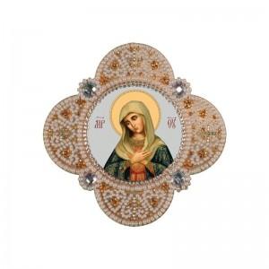 """РВ3315  Богородица """"Умиление"""". Новая Слобода. Наборы для вышивания бисером."""