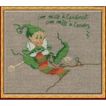 59-A0030KA Мак 7 Вязание. NIMUЁ. Наборы для вышивания крестиком.