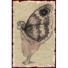 55-A033K Бабочка. NIMUЁ. Наборы для вышивания крестиком.