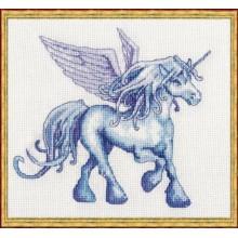 47-G002-K Единорог. NIMUЁ. Наборы для вышивания крестиком.