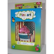 15/MK2D Набор с пайетками Pins Art. PinsArt. Наборы с пайетками.