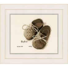 PN-0164620 Первая обувь. Vervaco. Наборы для вышивания крестиком.