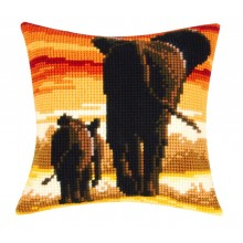 PN-0162254 Слоны. Vervaco. Наборы для вышивания крестиком.