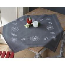 PN-0164728 Белые цветы. Vervaco. Наборы для вышивания гладью.