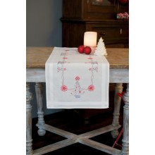 PN-0167023 Новогодние елки. Vervaco. Наборы для вышивания крестиком.