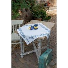 PN-0168358 Синие веточки. Vervaco. Наборы для вышивания крестиком.