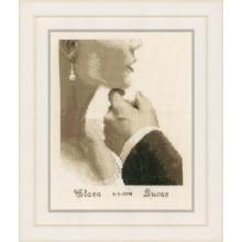 PN-0166022 Жених и невеста. Vervaco. Наборы для вышивания крестиком.