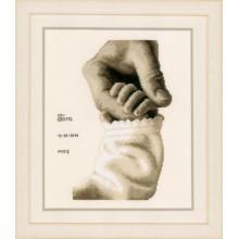 PN-0173017 Детская любовь. Vervaco. Наборы для вышивания крестиком.