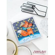 APB-004 Поймал. Абрис Арт. Наборы для вышивания бисером.