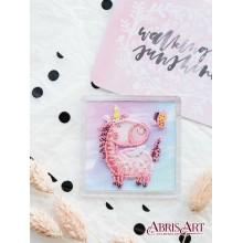 APB-002 Привет-привет. Абрис Арт. Наборы для вышивания бисером.