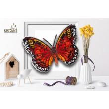 Б-004 3D Бабочка Цетозия Библис. Blagovest. Наборы для вышивания бисером.