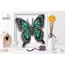 Б-012 3D Бабочка Палинура. Blagovest. Наборы для вышивания бисером.