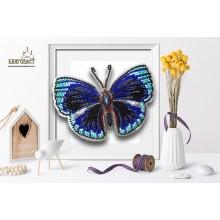 Б-020 3D Бабочка Callithea Optima. Blagovest. Наборы для вышивания бисером.