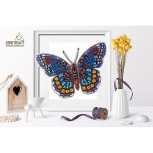 Б-024 3D Бабочка Limenitis Astyanax. Blagovest. Наборы для вышивания бисером.