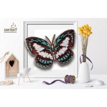Б-040 3D Бабочка Danis Danis. Blagovest. Наборы для вышивания бисером.