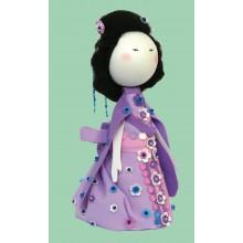 К-007 Набор для изготовления куклы (Мико). Чарівна Мить. Наборы для изготовления кукол.