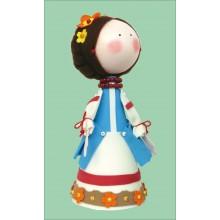 К-014 Набор для изготовления куклы (Галя). Чарівна Мить. Наборы для изготовления кукол.