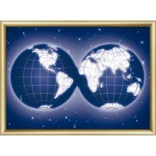 КС-188 Карта мира. Чарівна Мить. Наборы со стразами.
