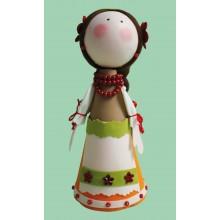 К-015 Набор для изготовления куклы (Оксана). Чарівна Мить. Наборы для изготовления кукол.