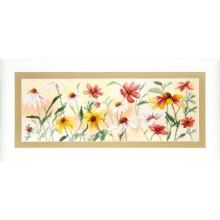 РК-110 Красочные цветы. Чарівна Мить. Наборы для вышивания крестиком.