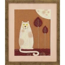 """В-212 Триптих """"Жил-был кот"""". Чарівна Мить. Наборы для валяния картин."""