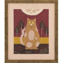 """В-214 Триптих """"Жил-был кот"""". Чарівна Мить. Наборы для валяния картин."""