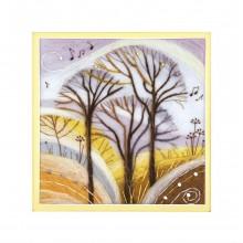 "В-208 Триптих ""Мелодия леса"". Чарівна Мить. Наборы для валяния картин."