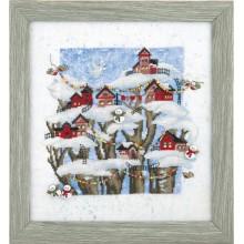 РК-132 Рождественская сказка. Чарівна Мить. Наборы для вышивания крестиком.